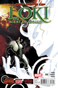 Loki: Agent of Asgard #16. Lee Garbett.