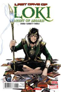Loki: Agent of Asgard #17. Lee Garbett.