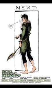 Última página de Loki: Agent of Asgard #17. Por Lee Garbett.
