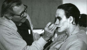 Maquillando a Brandon Lee