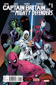 Captain Britain and the Mighty Defenders #1.