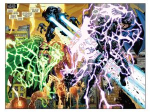 Viñeta de Magneto Vol 3 #19. Por Paul Davidson.