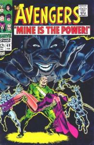 The Avengers #49. Por John Buscema y Sam Rosen.