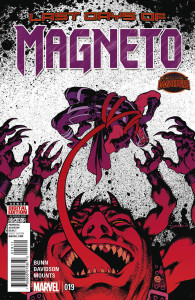 Magneto Vol 3 #19. Por David Yardin.