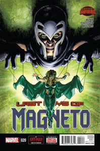 Magneto Vol3 #20. Por David Yardin.
