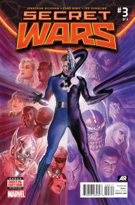 Secret Wars #3. Por Alex Ross.