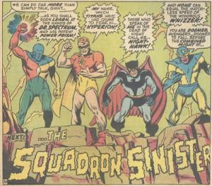 Viñeta de The Avengers #69. Por Sal Buscema.