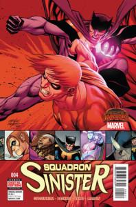 Squadron Sinister #4. Por Carlos Pacheco, Mariano Taibo y Frank Martin.