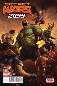 Secret Wars 2099 #2. Por Dave Rapoza.
