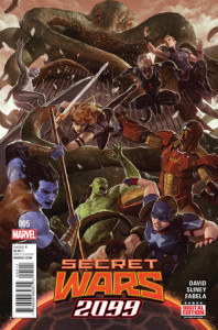 Secret Wars 2099 #5. Por Dave Rapoza.