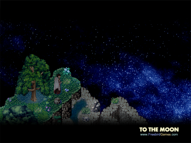 To the moon videojuego