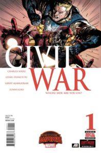 Civil War Vol 2 #1. Por Leinil Francis Yu y Sunny Gho.