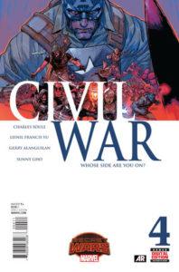 Civil War Vol_2 #4. Por Leinil Francis Yu y Sunny Gho.