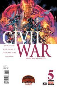 Civil War Vol_2 #5. Por Leinil Francis Yu y Sunny Gho.