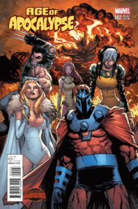 Age of Apocalypse Vol 2 #2. Por Ramos.