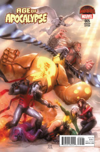 Age of Apocalypse Vol 2 #5. Por Garner.