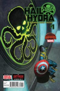 Hail Hydra #1. Por Andrew Robinson.
