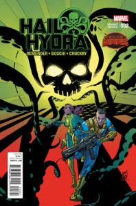 Hail Hydra #2. Por Garney