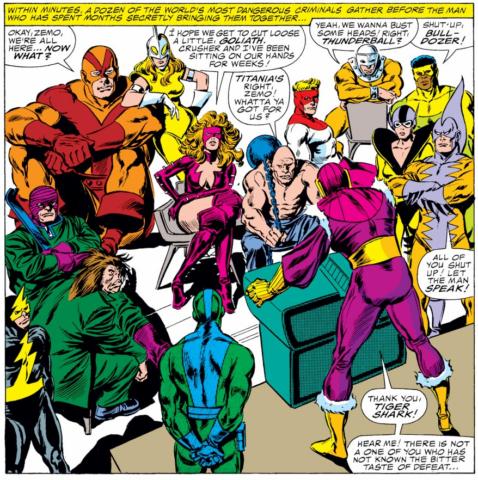 Viñeta de The Avengers #273 (86). Por John Buscema.