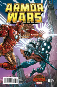 "Armor Wars #½. Por Paul Rivoche y Esther Sanz. Venta exclusiva en el Toys""R""Us."