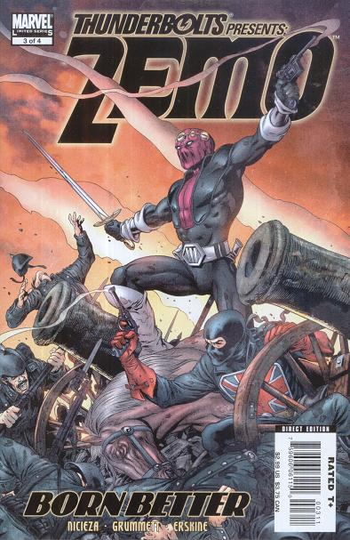 Thunderbolts Presents Zemo Born Better #3. Por Tom Grummett.
