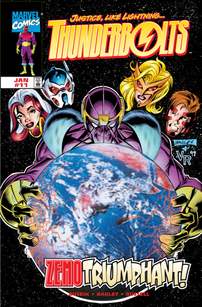 Thunderbolts #11. Por Mark Bagley.