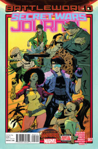 Secret Wars Journal #2. Por Sanford Greene.