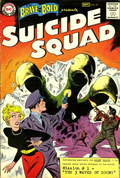 The Brave and the Bold #25 (1959). Por Ross Andru y Mike Esposito.