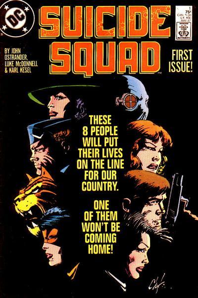 Suicide Squad #1 (87). Por Howard Chaykin.