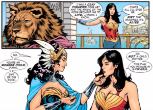 Página de Wonder Woman: Earth One. Por Yanick Paquette.