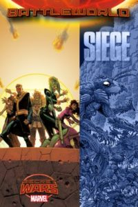 Portada alternativa de Secret Wars: Siege #1. Por Robinson.