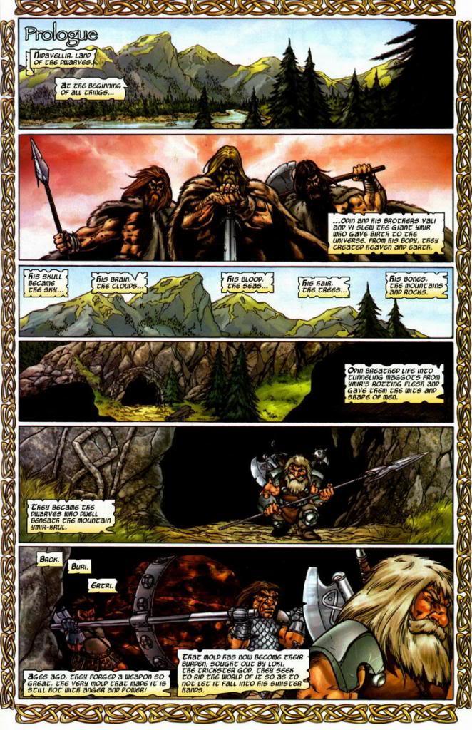 Página de Thor Vol.2 #80 (04). Por Andrea DiVito.