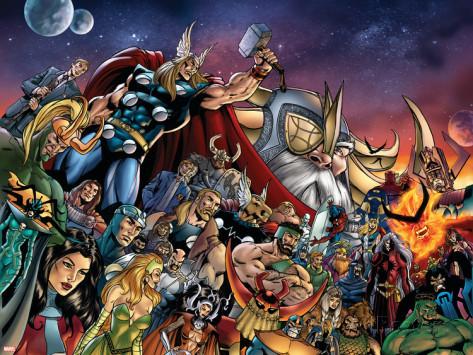 Página de Thor Vol.2 #85 (04). Por Andrea DiVito.