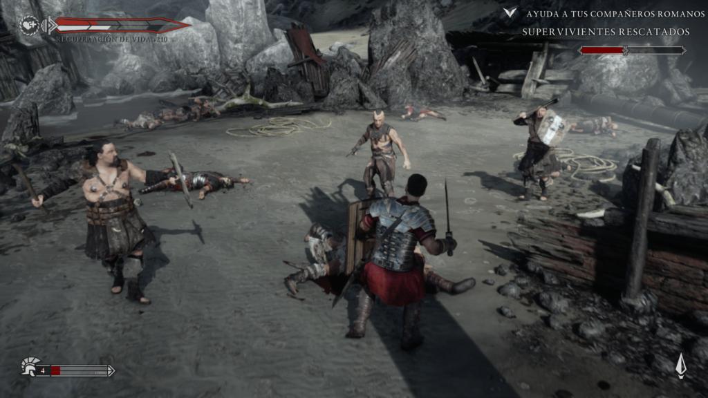 Batalla en Ryse: Son of Rome