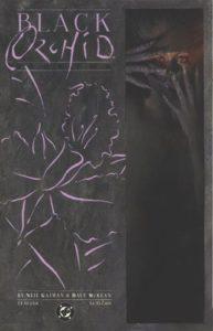 Black Orchid #2 (89). Por Dave McKean.