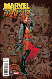 Portada alternativa de Marvel Zombies Vol.2 #1 (05). Por Greg Land.