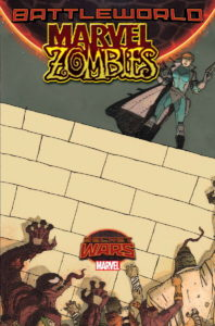 Portada alternativa de Marvel Zombies Vol.2 #2. Por Walta.