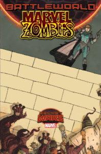Portada alternativa de Marvel Zombies Vol.2 #2. Por Walta.