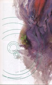 Página de Black Orchid #1 (88). Por Dave McKean.