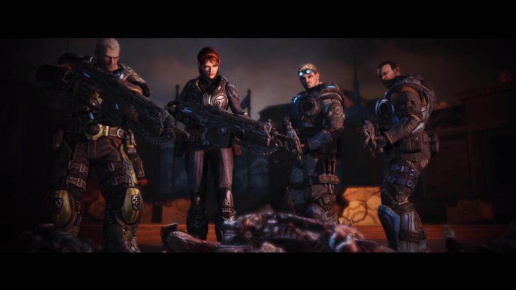 ¿Recordáis las incursiones en territorio Locust de Marcus en Gears of War 1 y 2, él en solitario? Pues aquí siempre vamos en grupo. La ventaja es que estando moribundos un compañero nos puede sanar.