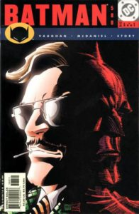 Batman #588 (01). Por Scott McDaniel y Patrick Martin.