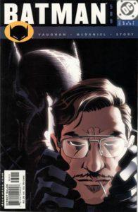 Batman #589 (01). Por Scott McDaniel y Patrick Martin.