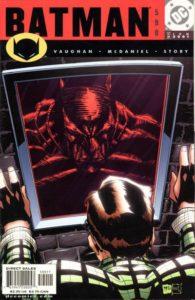 Batman #590 (01). Por Scott McDaniel y Patrick Martin.