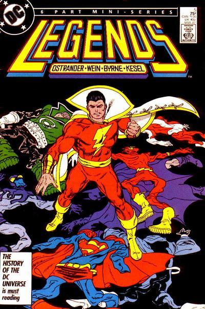 Legends #5 (87). Por John Byrne.