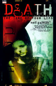 "Portada del recopilatorio ""Death: The time of your life (1996)""."