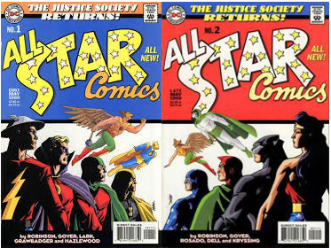JSA Returns: All-Star Comics #1 y #2 (99). Por Dave Johnson.