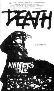 """Página de """"Un cuento de invierno"""". Por Jeff Jones."""
