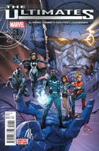 The Ultimates Vol 3 #1 (16). Por Rocafort y Delgado.