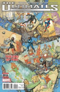 The Ultimates Vol 3 #5 (16). Por Kenneth Rocafort.