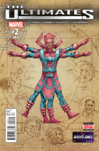 The Ultimates Vol 3 #2 (16). Por Kenneth Rocafort.